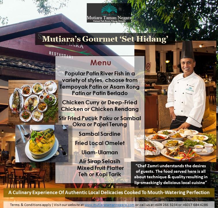 Mutiara's Set Hidang